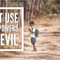 Do Not Use This Power For Evil